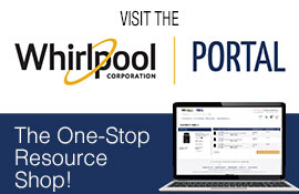 Visit the new Whirlpool PORTAL